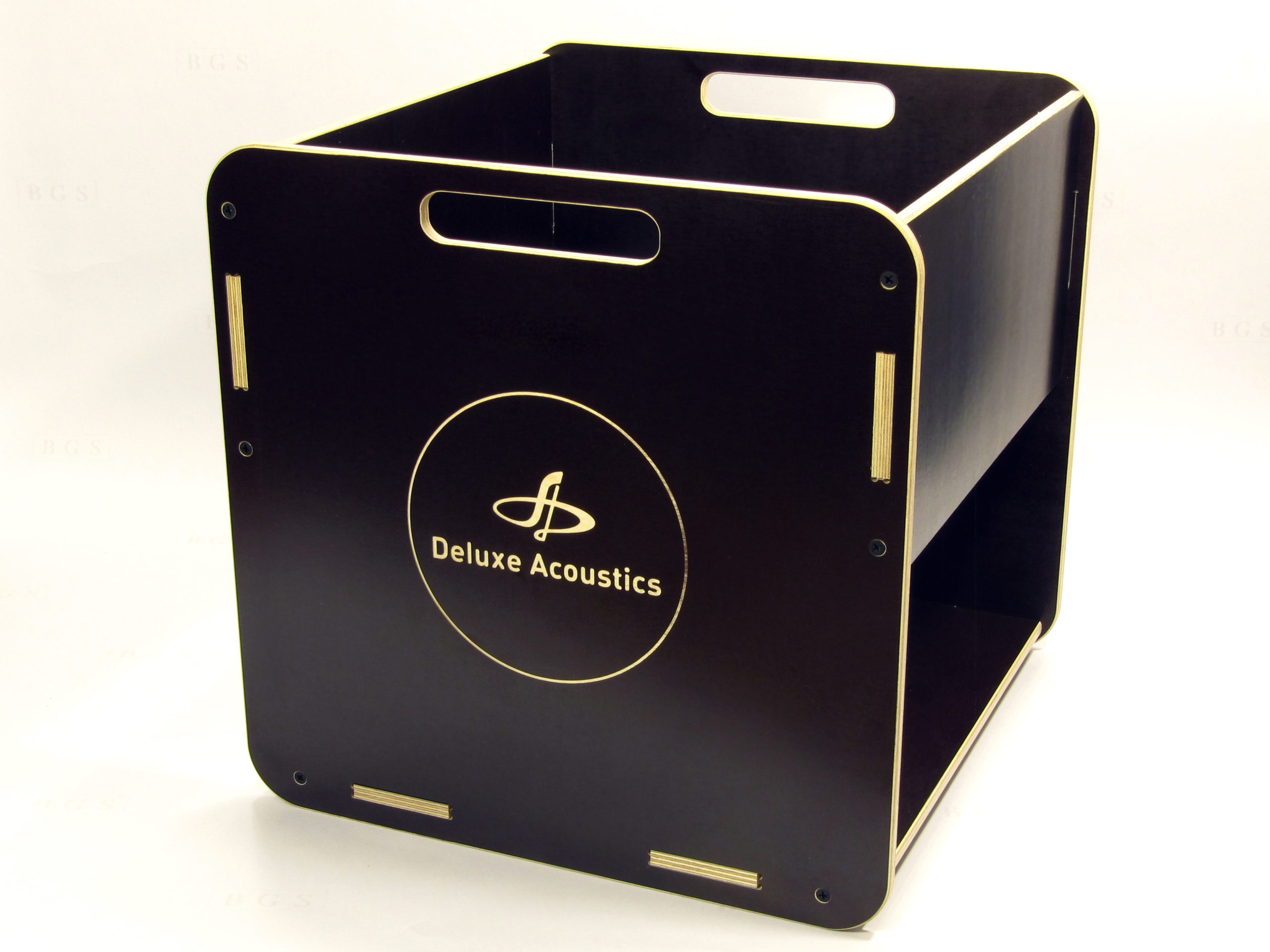 Ящик для виниловых пластинок